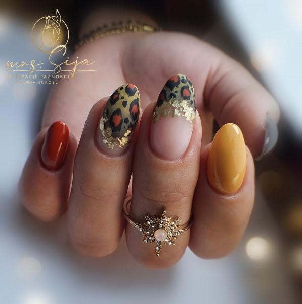 Paznokcie Panterkowelove - panterka na paznokciach