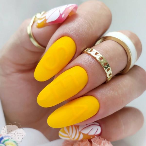Paznokcie Wakacyjne neonowe paznokcie