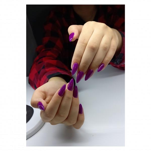 Paznokcie Przepiękne fioletowe