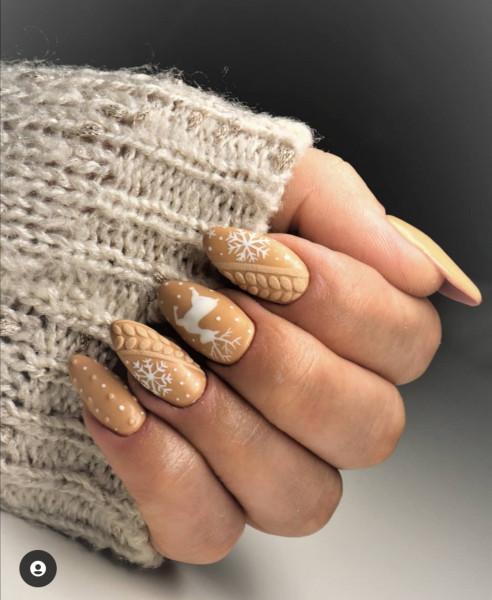 Paznokcie Zimowe paznokcie