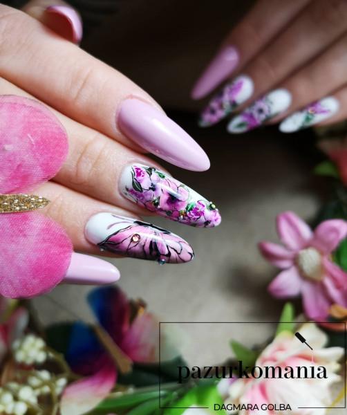 Paznokcie Wiosenny motyl 🦋
