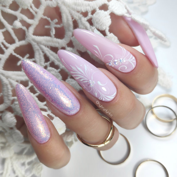 Paznokcie Light Pink - Paznokcie ślubne