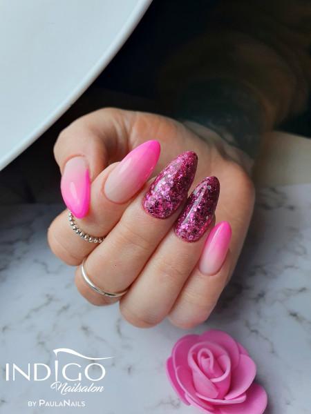 Paznokcie Pink babyboomer