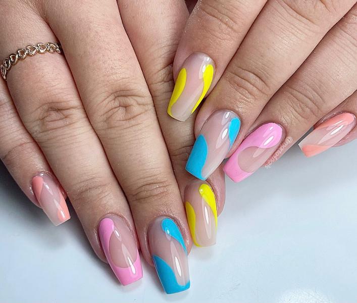 Paznokcie Kolorowe paznokcie