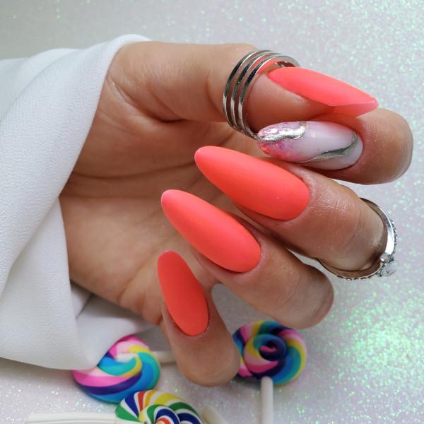 Paznokcie Neonowe mani