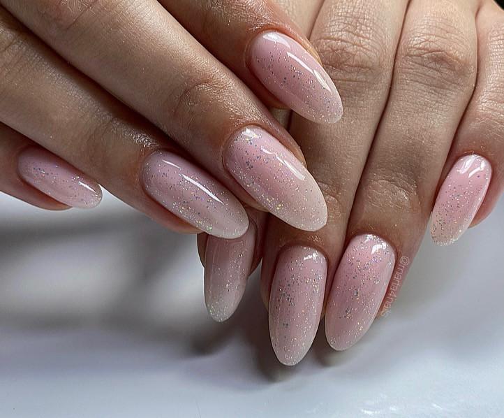 Paznokcie Brokatowe paznokcie