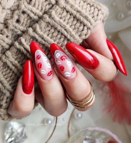 Paznokcie Walentykowe