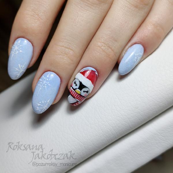 Paznokcie Pingwinek