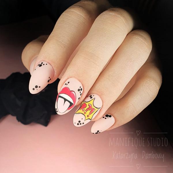 Paznokcie Graficzne paznokcie