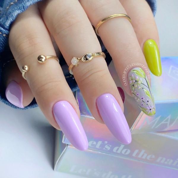Paznokcie Wakacyjne kwiaty 🌷na paznokciach