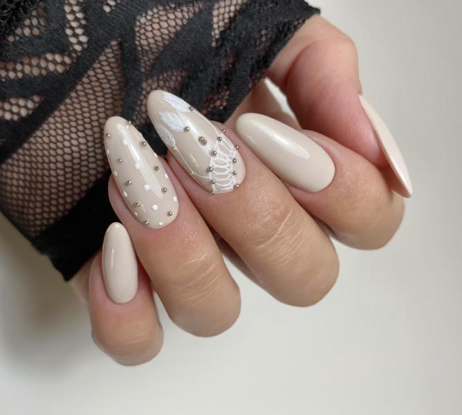 Paznokcie Wedding nails