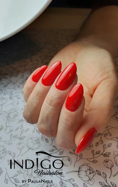 Paznokcie Sexy red