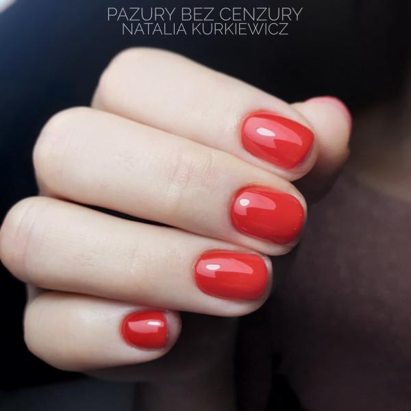 Paznokcie Classic Red