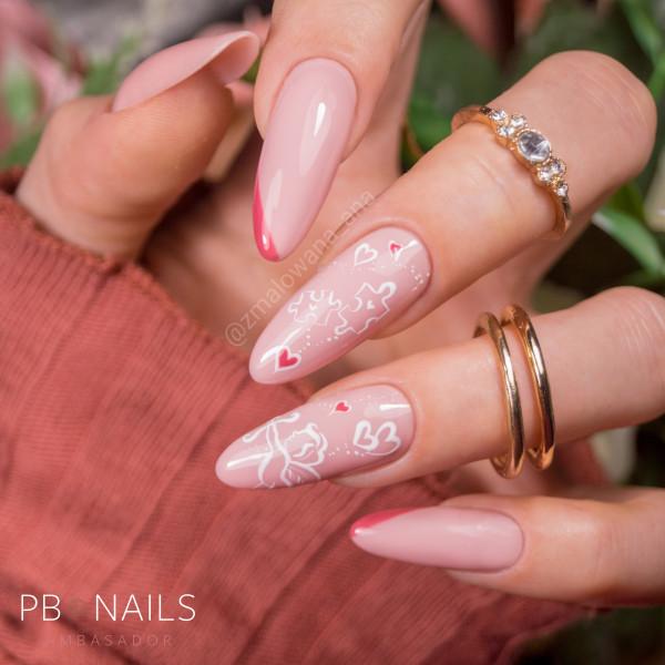 Paznokcie Walentynkowe paznokcie