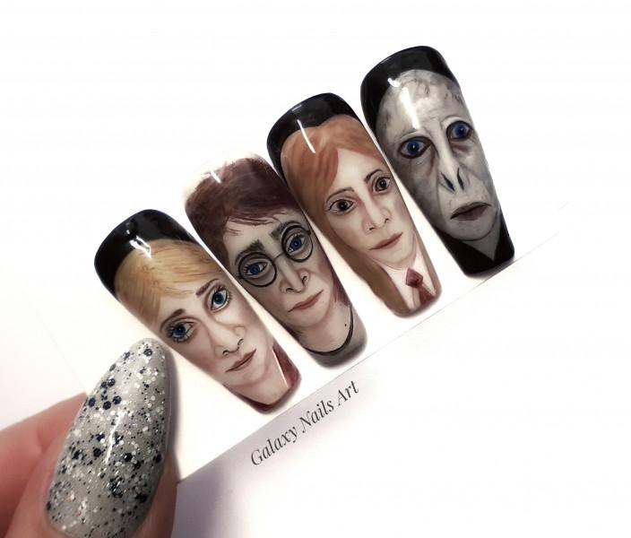 Paznokcie 🎩 Harry Potter 🎩