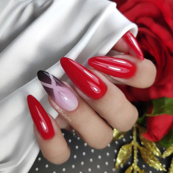 Paznokcie Czerwone paznokcie 💅