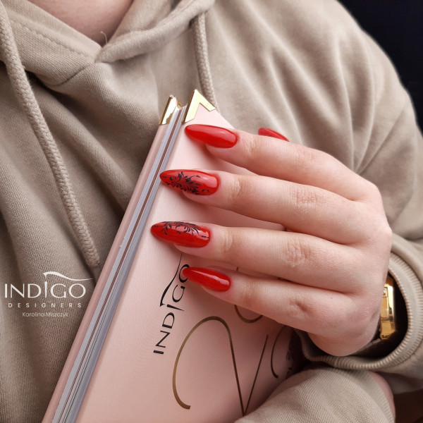 Paznokcie Glamour Red ❤❤❤