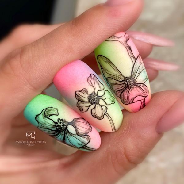 Paznokcie Kwiatki Zapp