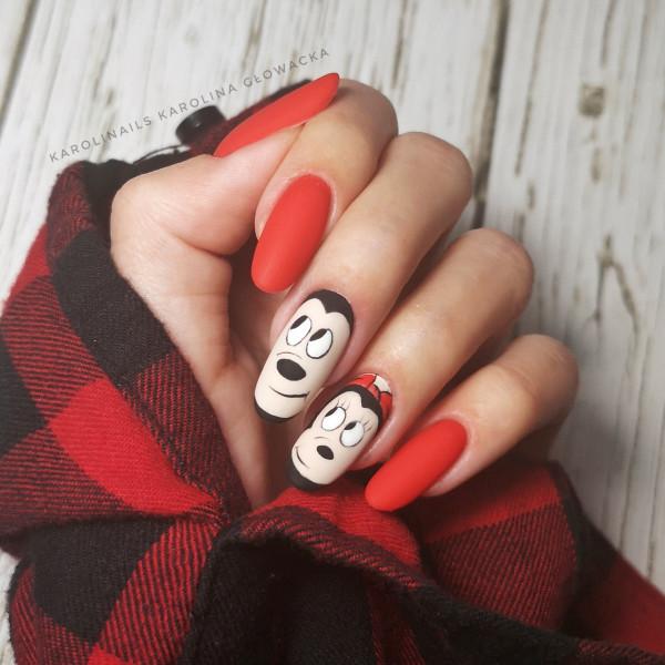 Paznokcie Mickey & Minnie