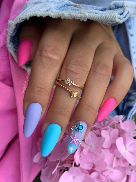 Paznokcie Wakacyjne paznokcie