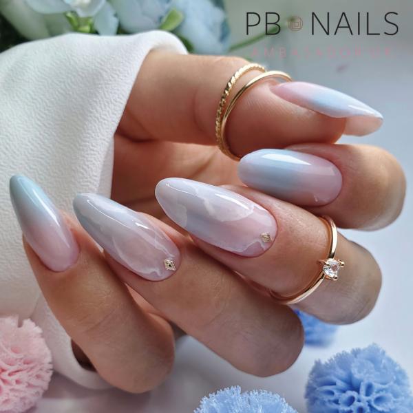 Paznokcie Marmurkowe paznokcie