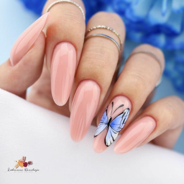 Paznokcie Motylek na paznokciach