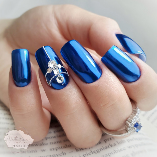 Paznokcie Metaliczne paznokcie