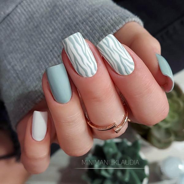 Paznokcie Zebra 🦓🦓