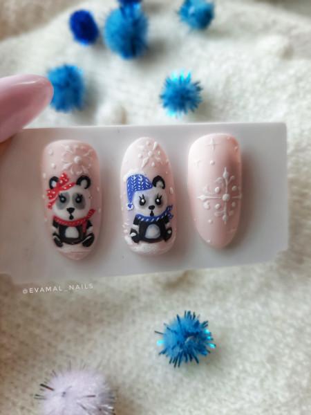 Paznokcie Pandy w zimowym wydaniu