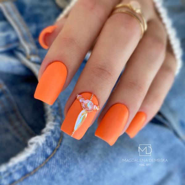 Paznokcie Pomarańczki