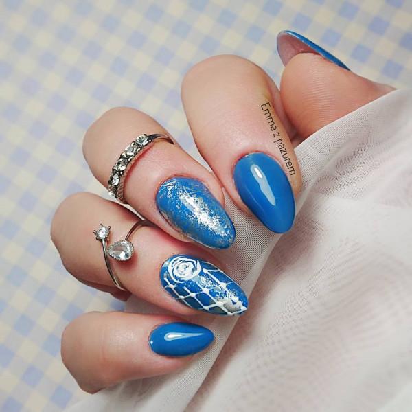 Paznokcie Niebieskie