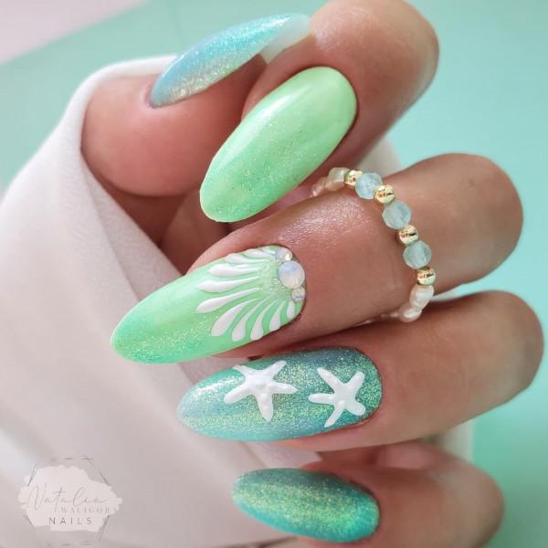 Paznokcie Morskie paznokcie