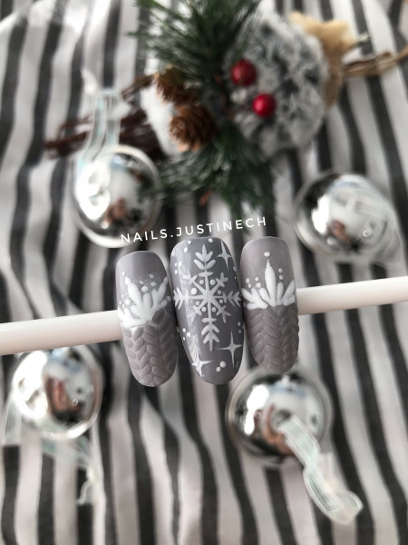 Paznokcie Świątecznie