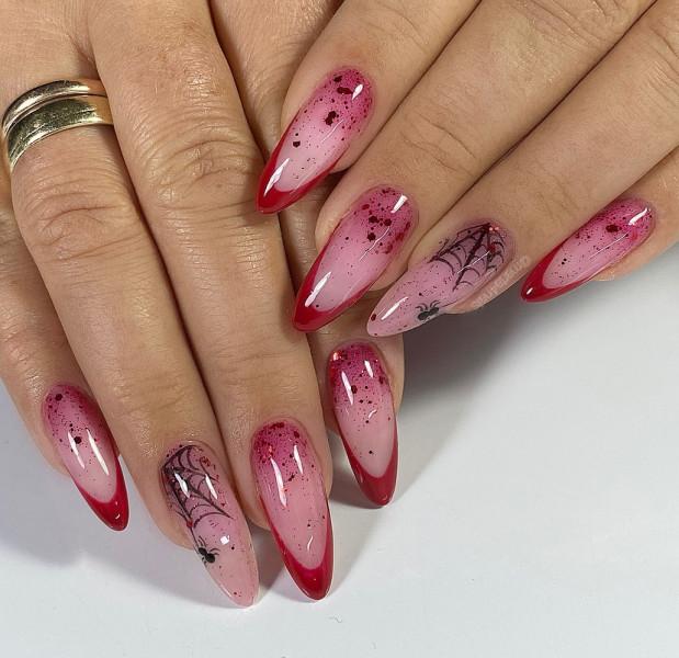 Paznokcie Halloweenowe paznokcie