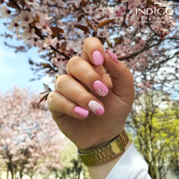 Paznokcie Wiosenne różyczki 🌹🌹🌹