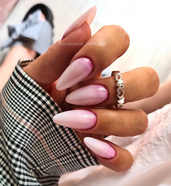 Paznokcie Delikatne i dziewczęce paznokcie