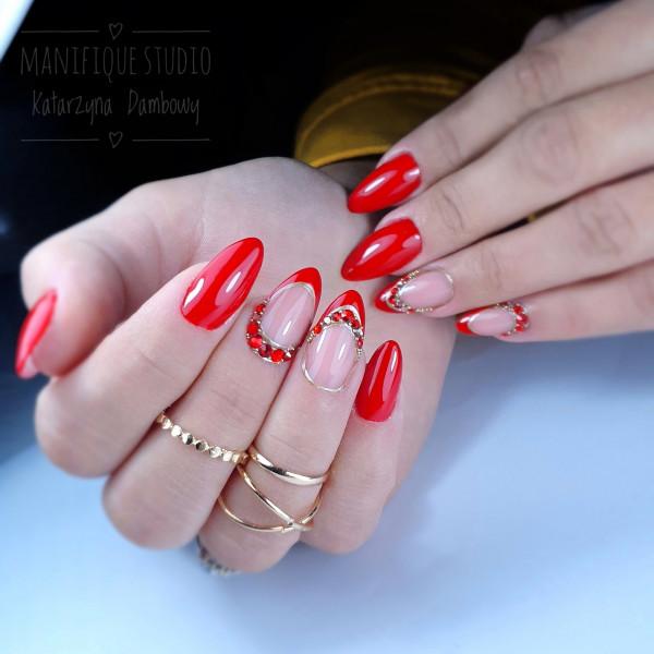 Paznokcie Czerwone paznokcie