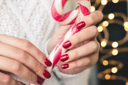 Inspiracje paznokcie na Boże Narodzenie