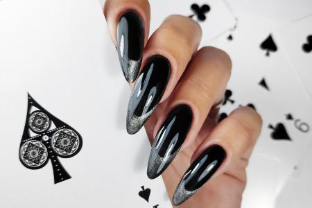 Inspiracje na czarne paznokcie