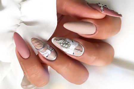 Inspiracje na paznokcie ślubne