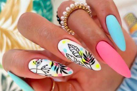 Inspiracje na kolorowe paznokcie